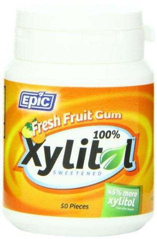 Epic Dental 100% Xylitol Sweetened Gum