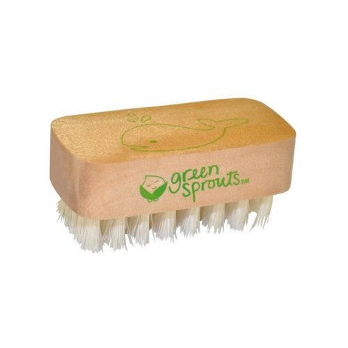 Nail Brush Health & Wellness Green Sprouts  (10031001539)
