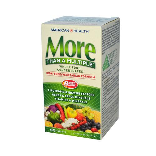 More Than A Multiple Iron-Free Supplements American Health  (10030530563)