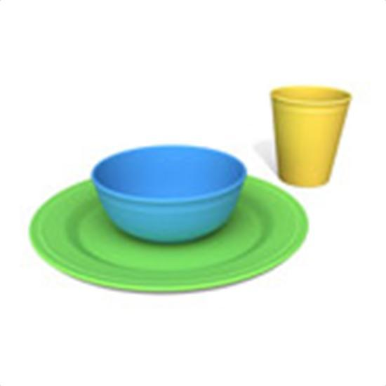 Green Eats Tabletop Set Health & Wellness Green Toys  (10031005379)