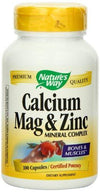 Calcium, Magnesium Zinc Supplements Natures Way