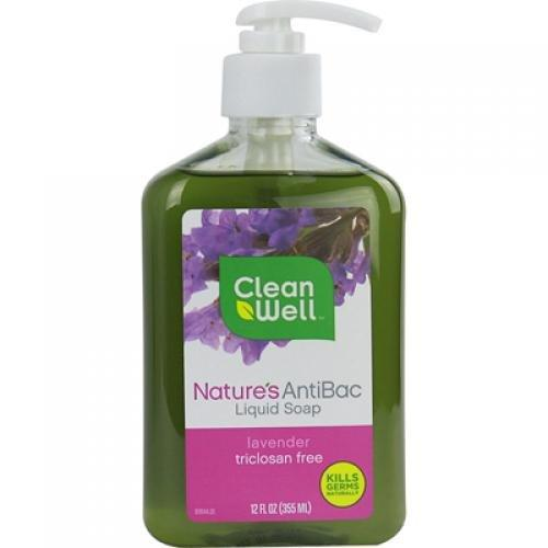 Antibacterial Liquid Hand Soap Supplements CleanWell  (10028921475)