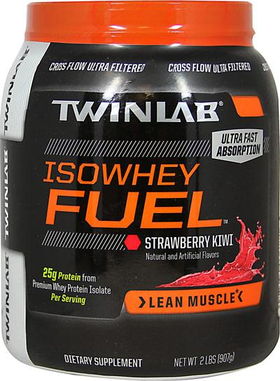 IsoWhey Fuel 100% Whey Isolate Protein - Clearance Clearance/Clearance & Closeouts! Twinlab  (10031922179)