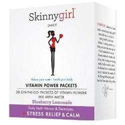 Vitamin Power Packets Stress Relief & Calm Supplements Skinnygirl  (10031766659)