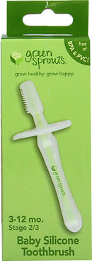 Silicone Baby Toothbrush Health & Wellness Green Sprouts  (10031001795)