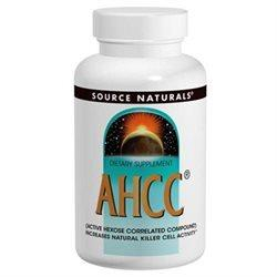 AHCC 500mg with Bioperine Supplements Source Naturals  (10031799043)