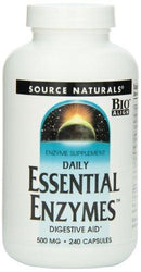 Essential Enzymes 500 mg Supplements Source Naturals  (10031779971)