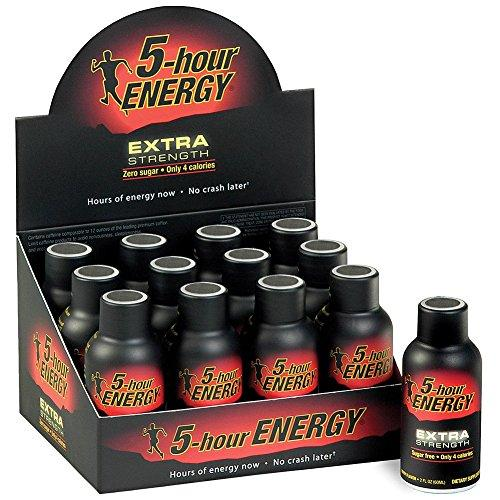 5-Hour Energy Extra Strength Energy & Sports Drinks 5-Hour Energy (Chaser)  (10028638851)