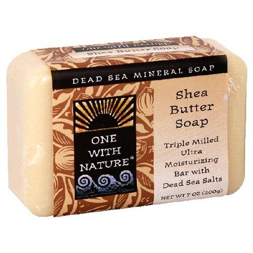 Shea Butter Bar Soap Supplements One With Nature  (10031593219)
