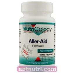 Aller-Aid Formula II Supplements Nutricology  (10031558467)