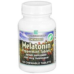 Melatonin 500 mcg Health & Wellness/Remedies/Sleep Nutrition Now  (10030377475)