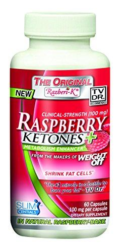 SlimCentials Razberi-K 99% Raspberry Ketones 100mg Supplements NuvoCare (Kyolic)  (10031573571)