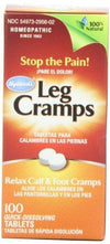 Leg Cramps Health & Wellness/Homeopathy/Leg Cramps Remedies Hylands