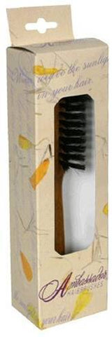 Hairbrush Boar Bristle All Round Wood Handle