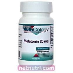 Melatonin 20mg Health & Wellness/Remedies/Sleep Nutricology  (10031566915)