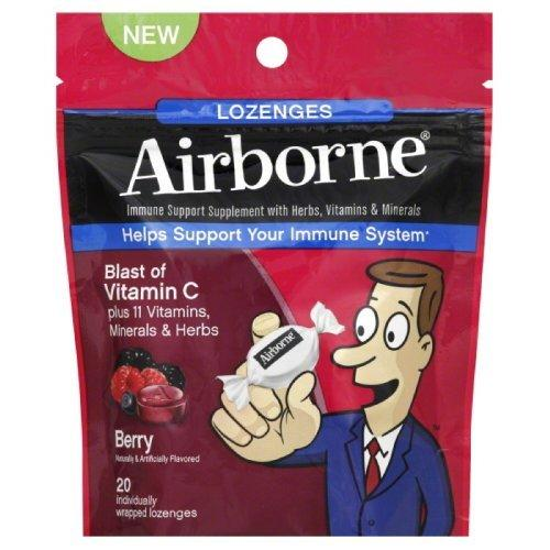 Airborne Lozenges Supplements Airborne  (10028663811)
