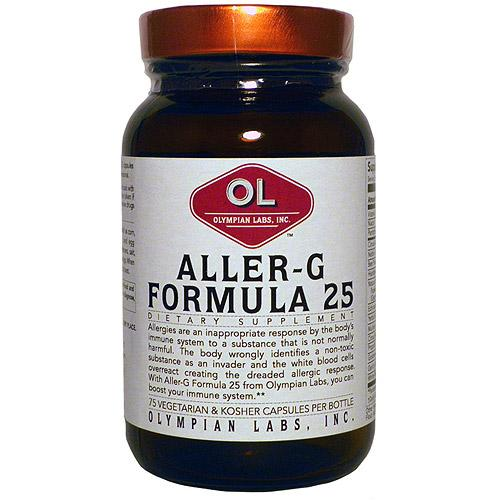 Aller-G Formula 25 Supplements Olympian Labs  (10031589763)