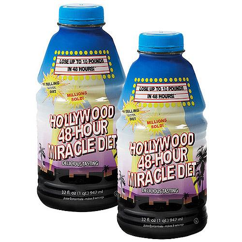 Hollywood 48 Hour Miracle Diet Supplements Hollywood Diet  (10031093123)