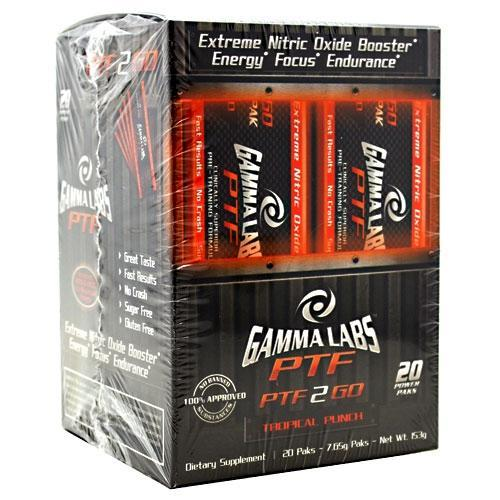 Gamma Pre-Training 2 Go Sports Nutrition/Nitric Oxide Boosters Gamma Labs  (10030958147)