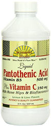 Pantothenic Acid Plus Vitamin C w/ Rosehips & Bioflavonoids Vitamins & Minerals/Essential Vitamins/Vitamin C Dynamic Health