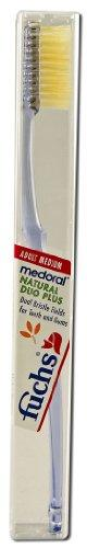Natural Duo Plus Toothbrush Medium