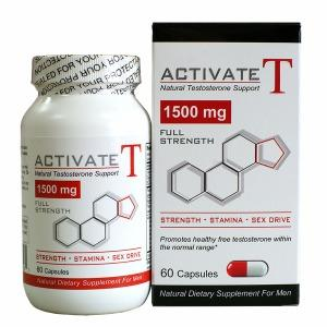 Activate T Natural Testosterone Supplements Fusion Diet Systems (Nutri-Fusion Systems)  (10030948739)