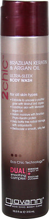 2Chic Keratin & Argan Oil Ultra-Sleek Body Wash