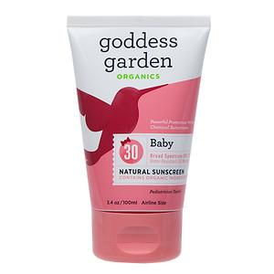 Baby Sunscreen SPF30 Health & Wellness Goddess Garden  (10030991875)