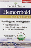 Hemorrhoid Control Supplements Forces of Nature