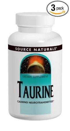 Taurine Powder 100 gm Supplements Source Naturals  (10031791939)