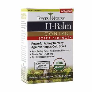 H-Balm Control Extra Strength Supplements Forces of Nature  (10030934211)