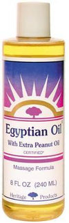 Egyptian Oil with Extra Peanut Oil Health & Wellness Heritage Products