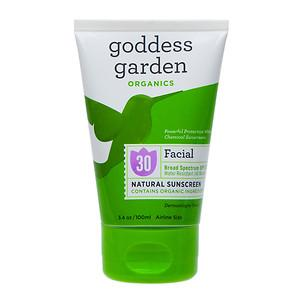 Facial Sunscreen SPF30 Personal Care Goddess Garden  (10030991939)