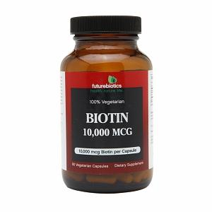 Biotin 10,000mcg Supplements Futurebiotics  (10030955331)