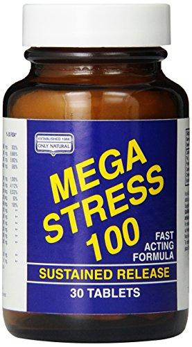 Mega Stress 100 Supplements Only Natural  (10031596739)