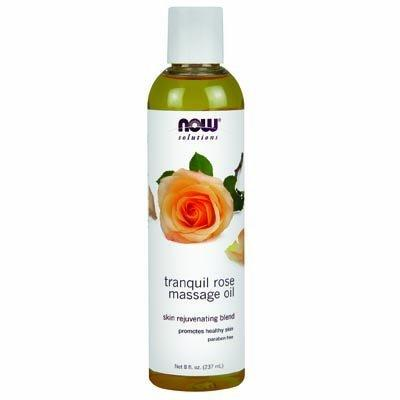 Tranquil Rose Massage Oil Supplements Now Foods  (10031531843)