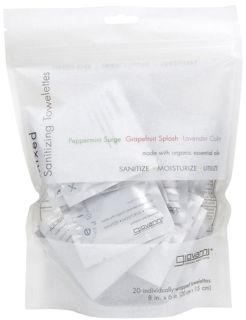 Mixed Towelettes Personal Care Giovanni Organic Cosmetics  (10030982723)