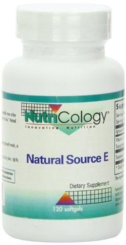 Natural Source E Supplements Nutricology  (10031563587)