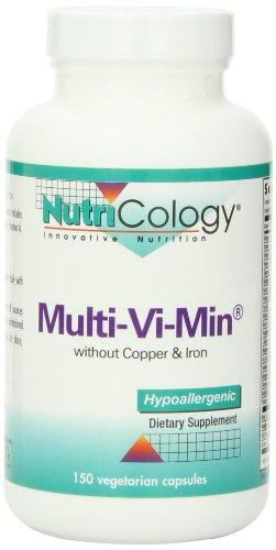 Multi-Vi-Min w/out Copper and Iron Supplements Nutricology  (10031556931)