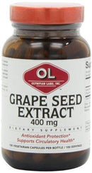 Grape Seed Extract 400 mg Supplements Olympian Labs  (10031586179)