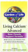 Living Calcium Advanced Vitamins & Minerals Garden of Life  (10030962051)
