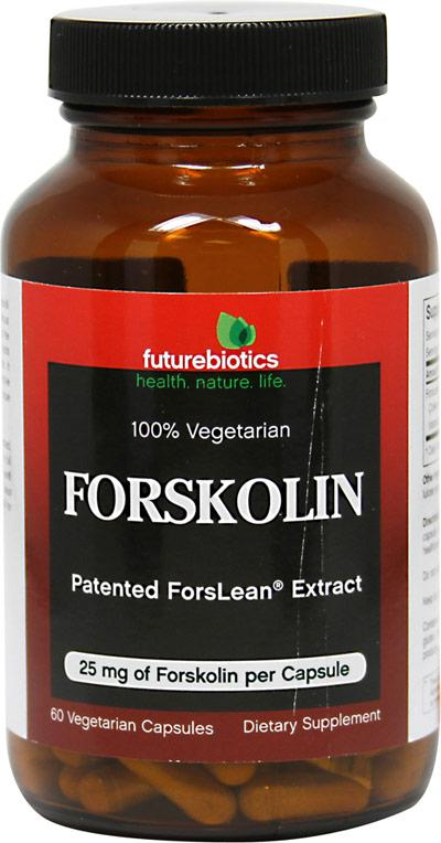 Forskolin 25mg Supplements Futurebiotics  (10030954691)