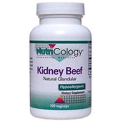 Kidney Beef Natural Glandular Supplements Nutricology  (10031568387)
