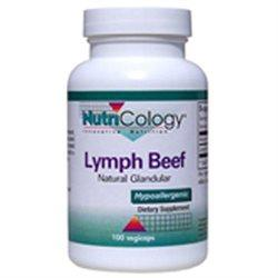 Lymph Beef Natural Glandular Supplements Nutricology  (10031568579)