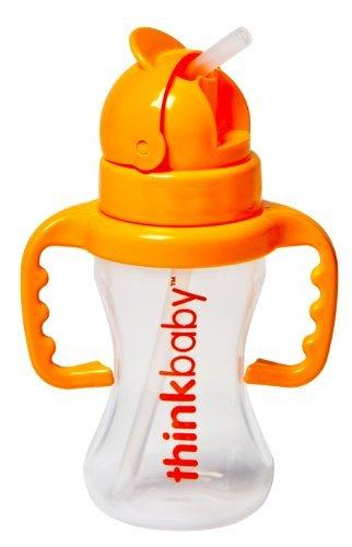Straw Bottle Thinkster Health & Wellness ThinkBaby  (10031857475)