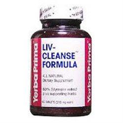 Liv Cleanse Formula Supplements Yerba Prima  (10031996099)