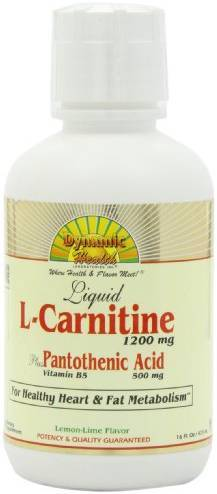 L-Carnitine Plus Pantothenic Acid Health & Wellness/Specialty Dynamic Health  (10029002243)