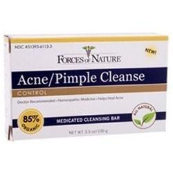 Acne Pimple Cleanse Bar Supplements Forces of Nature  (10030936259)