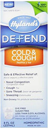 Defend Cold & Cough Health & Wellness Hylands