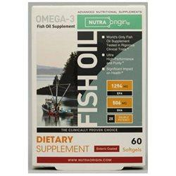 Fish Oil Enteric Coated Double Potency Health & Wellness/Healthy Fats/Fish Oil NutraOrigin  (10031550147)